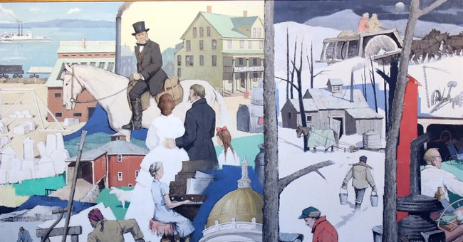 Massive mural donated to Vermont Historical Society