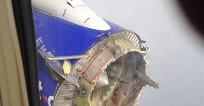 Engine blade on Southwest jet showed signs of cracking