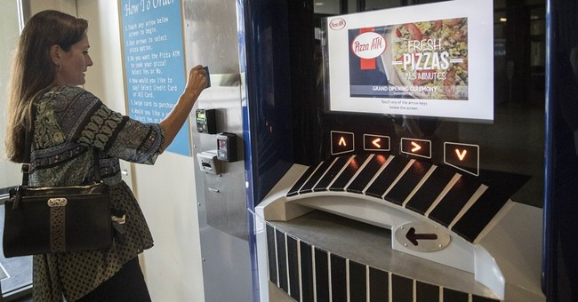 ATM at Ohio school doles out next best thing to cash _ pizza