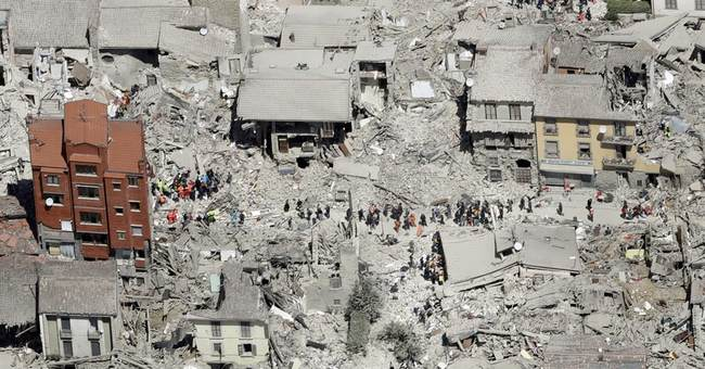 Quake-hit Italian town files complaint over cartoon satire