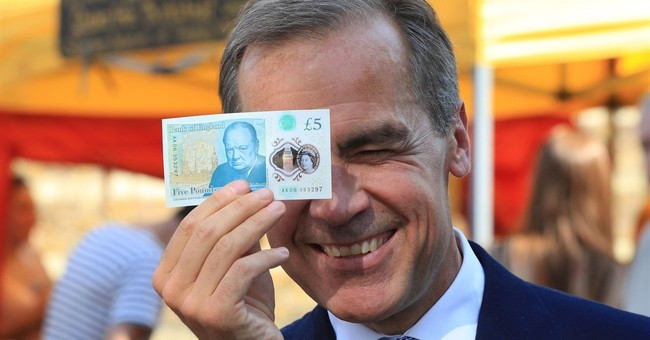 Britain's new money is plastic, easy to launder (in machine)