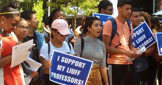 Professors locked out of classrooms over labor dispute