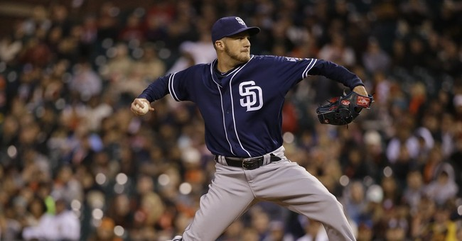 Padres use 6 pitchers to shut out Giants, 4-0