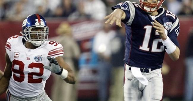 Tom Brady, Michael Strahan produce 'Religion of Sports' show