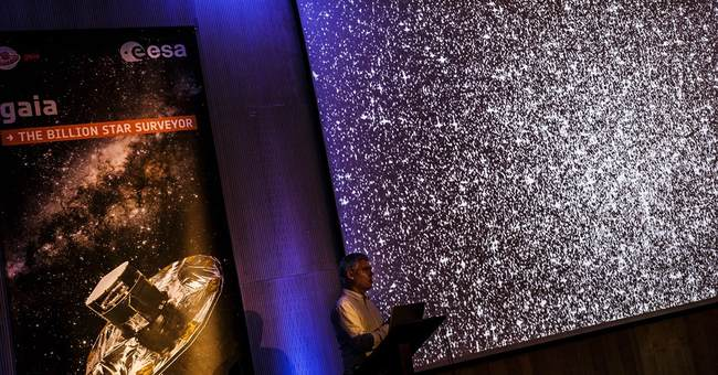 Space agency starts to unfold atlas of 1 billion stars in 3D