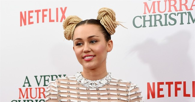 A red carpet revolt? Miley Cyrus takes a stand