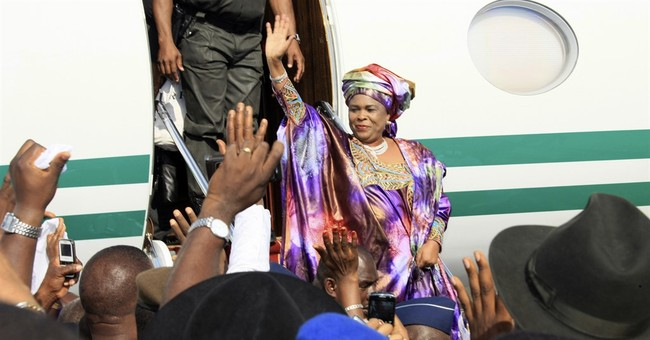Former Nigerian 1st lady claims frozen accounts worth $31.5M