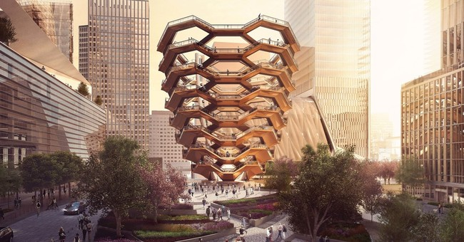 Plans for huge sculpture in New York public plaza unveiled