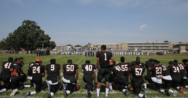 National anthem protests trickling down to high school level
