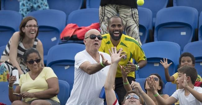 Brazilians being Brazilians lift Paralympic spirit