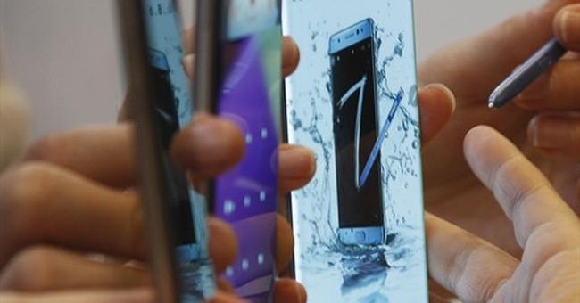 US regulators: Official recall of 1M Samsung Note 7 phones