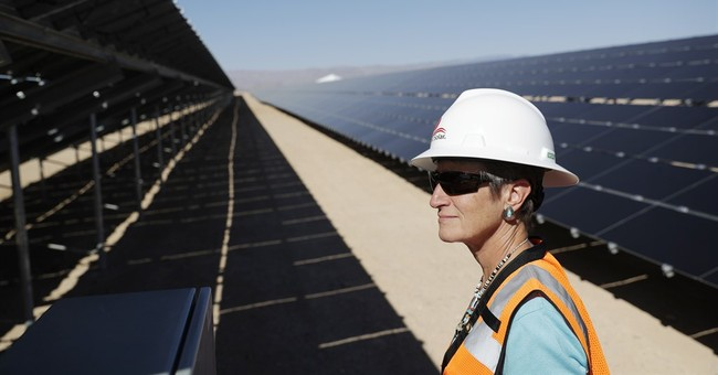 US Interior chief tours solar plant on tribal land in Nevada