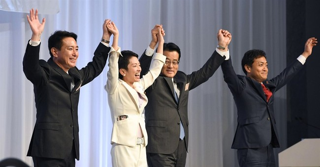 New party leader gives Japan troika of top women in politics