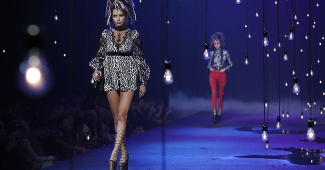 Glam rockers, baby doll goddesses: Marc Jacobs gets trippy