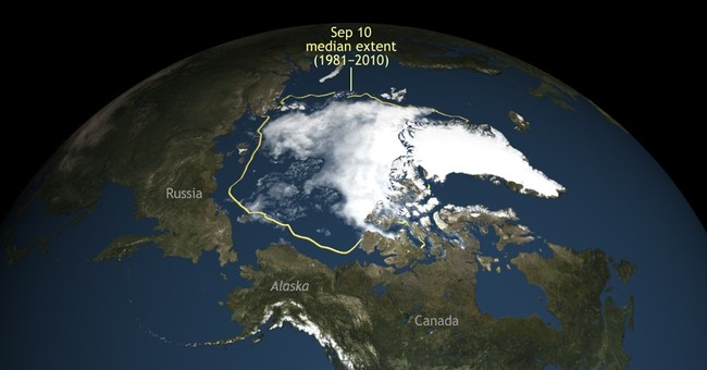 Sea ice in Arctic shrinks to second lowest level on record