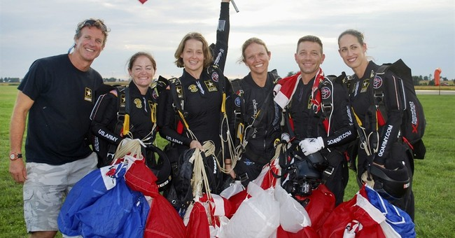 Army's Golden Knights score 2 skydiving golds for US