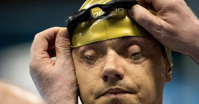 AP PHOTOS: Records fall, attendance rises at Paralympics