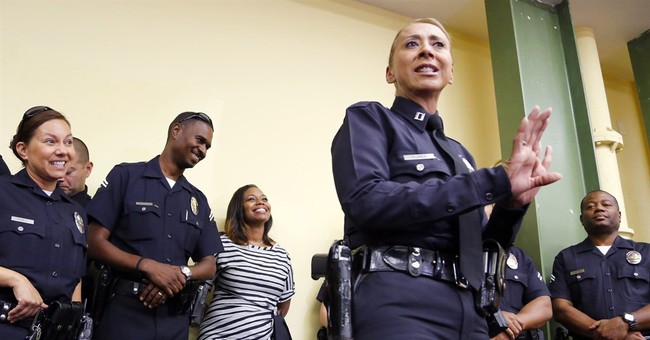 Rodney King's daughter stands side-by-side with LAPD