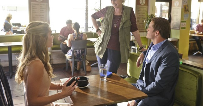 A better angel? Jane Lynch wings in for her funny new sitcom
