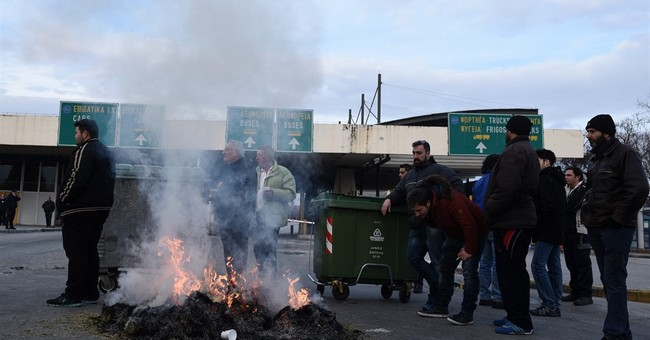 Protests escalate against Greek pension reform