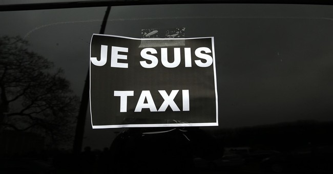 French taxis, air traffic controllers, schools on strike