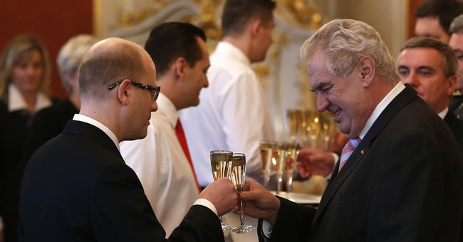 Czech president under fire for remarks about premier