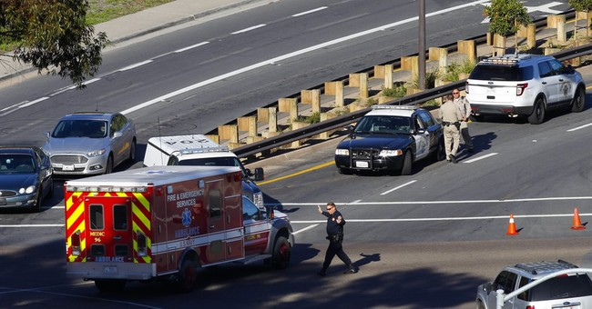 Navy finds no sign of shooting at center; lockdown lifted