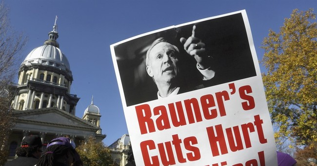 After ugly first year, Illinois' governor says stay tuned