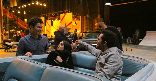 Broadway and Hollywood mix for hybrid musical 'Grease: Live'
