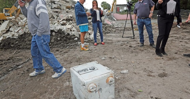 Safe found in debris of mansion once owned by Pablo Escobar