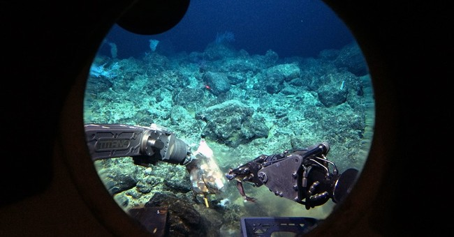 AP Exclusive: Deep-sea volcano a hotspot for mysterious life