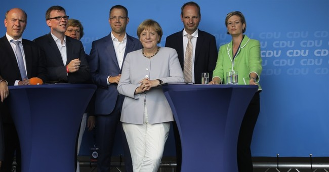 Merkel's party faces another setback in Berlin state vote