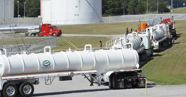 Gas prices up, stations running out after pipeline spill