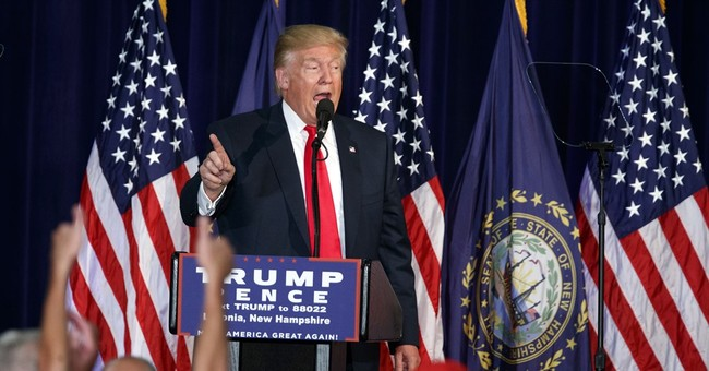 The Latest: Clinton campaign protests Trump comment on guns