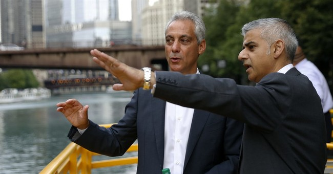London mayor, on US trip, vows city to stay open post-Brexit