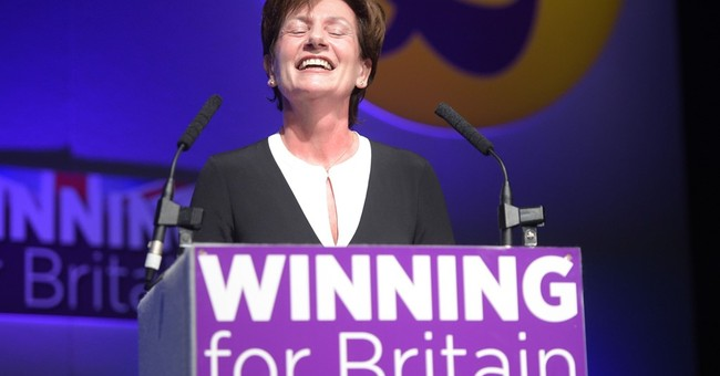 Britain's UKIP elects Diane James new leader amid acrimony
