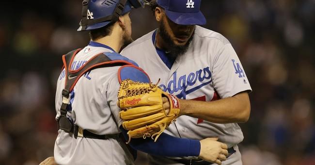 Maeda, bullpen lead Dodgers past Diamondbacks, 3-2