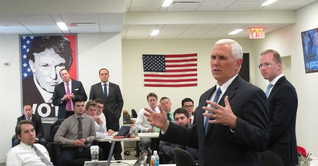 Doctor declares Trump running mate Pence to be healthy