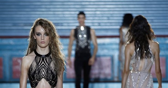 Stripes, sparkles, tough love at day 2 of London Fashion Wee