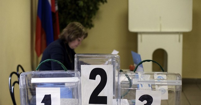 Russia begins national parliament election