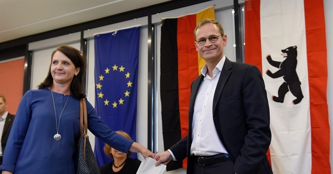 Merkel's party loses support in Berlin state election
