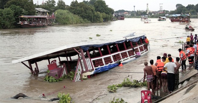Death toll rises to 18 in Thai boat sinking, others missing