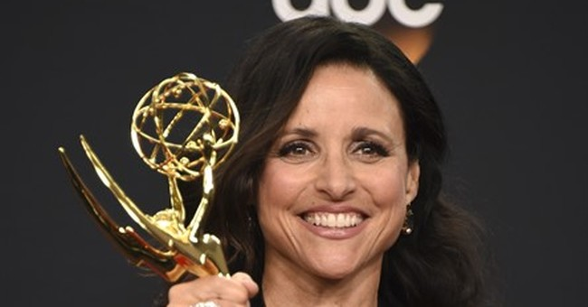 Julia Louis Dreyfus honors her father at Emmys