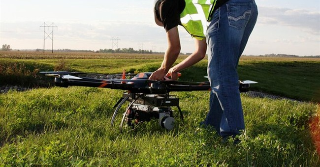 Drone operators seek permission to fly out of direct sight