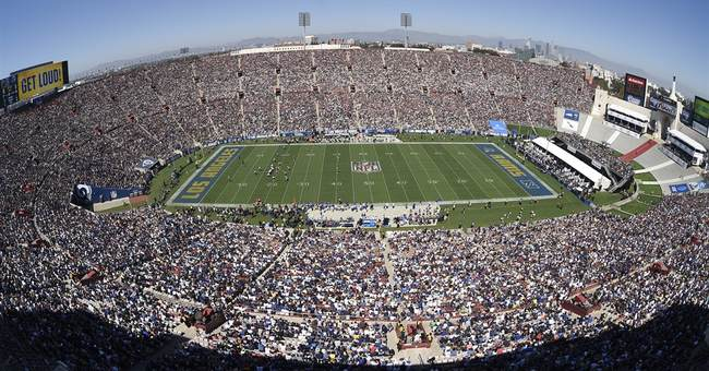 Los Angeles Rams' home opener tempts Emmy Awards guests