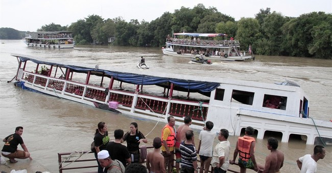 At least 13 reported to be killed in Thailand boat accident