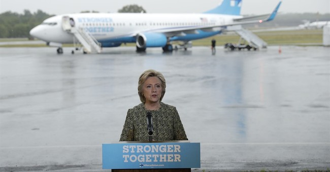 The Latest: Clinton vows to protect Wells Fargo customers
