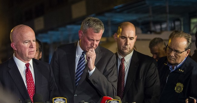 NYC's new police boss successfully handles first big test