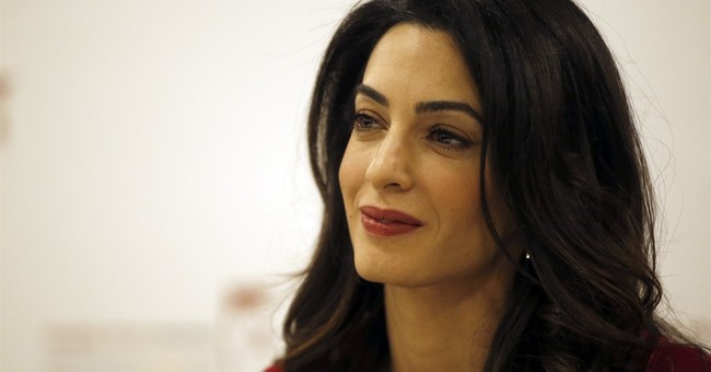Amal Clooney discusses effort to legally fight Islamic State