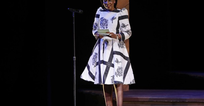 Michelle Obama hosts a Broadway event to help educate girls